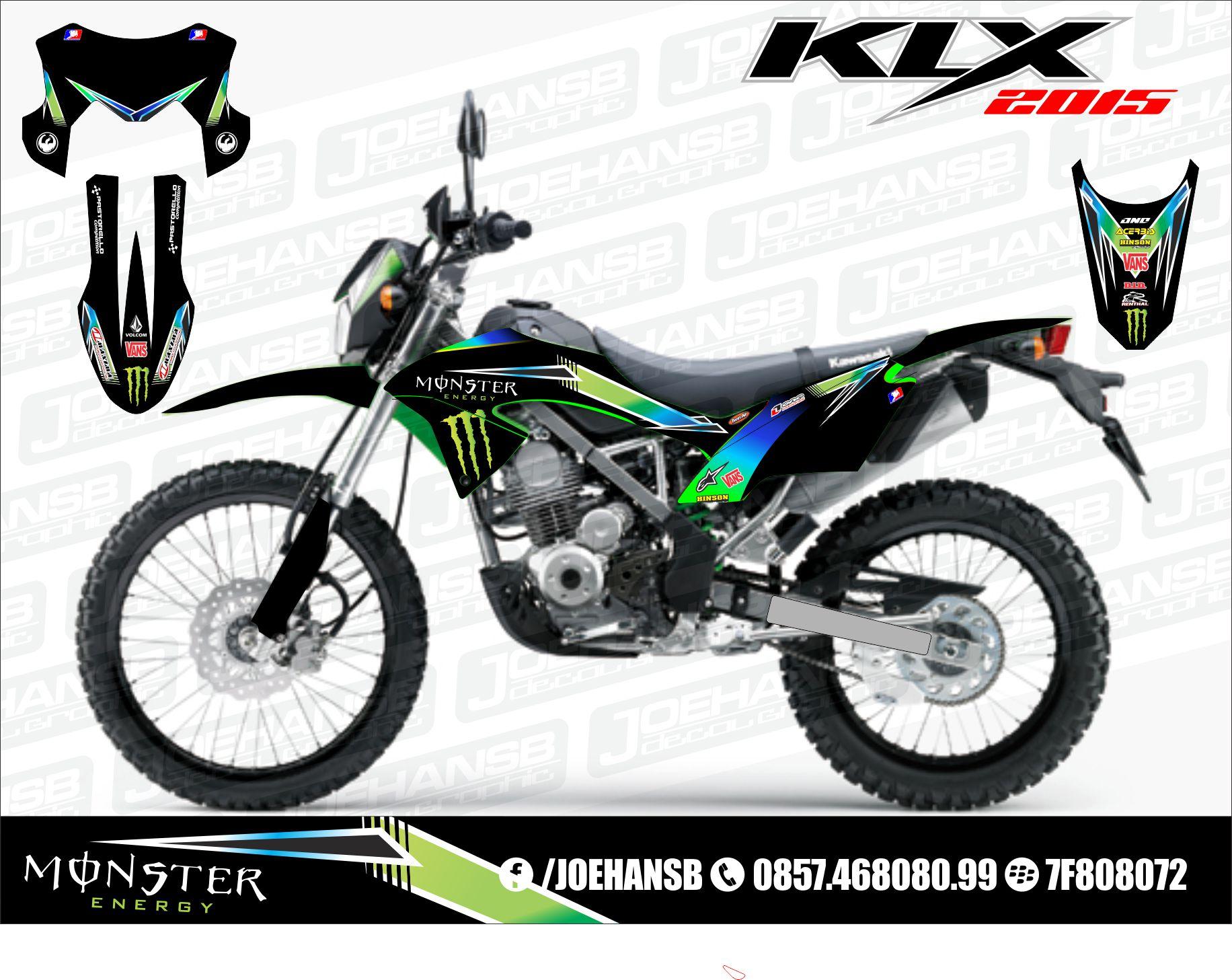 Kumpulan modifikasi motor trail klx bf terbaru dan terlengkap