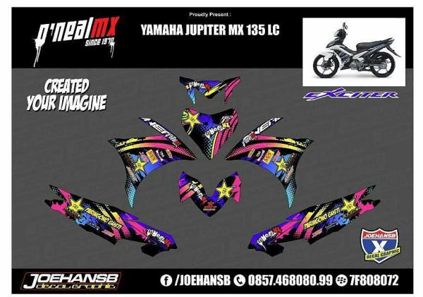 Striping mx 135