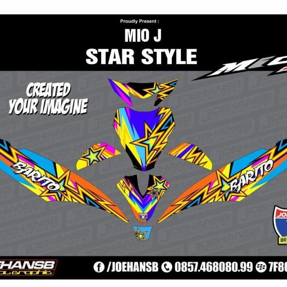 Joehansb Decal Graphic Page Decal Stiker - Mio decalsmodifikasi striping mio j striping stickers decals joehansb