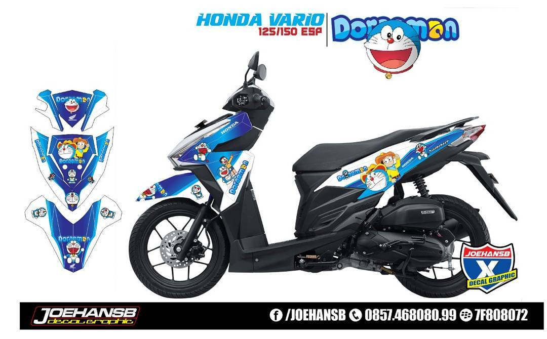 Modifikasi Motor Doraemon All Desain