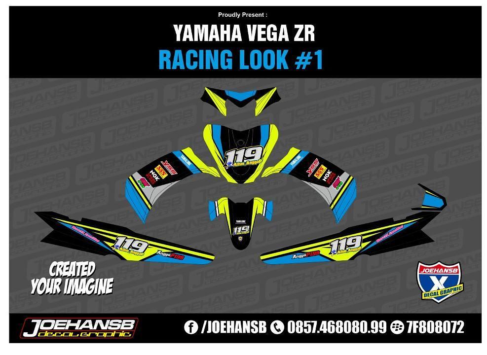 Modifikasi Striping Motor Yamaha Vega Zr Racing Looks Info And Order